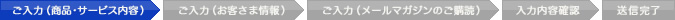 ご入力(商品・サービス内容)